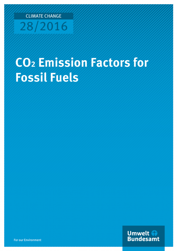 CO2 Emission Factors for Fossil Fuels