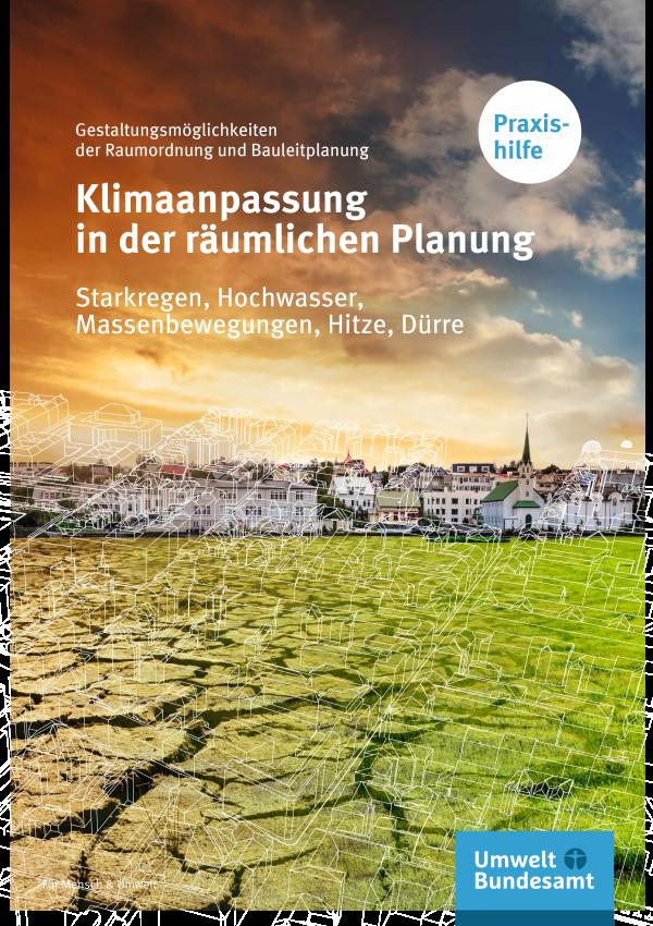 Titelbild Praxishilfe - Klimaanpassung in der räumlichen Planung
