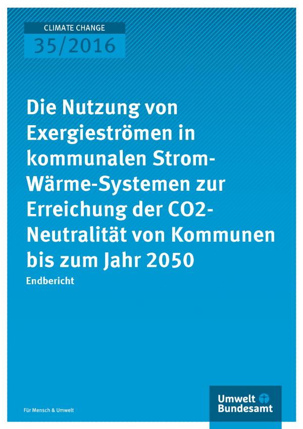 Titelbild Climate Change 35/2016