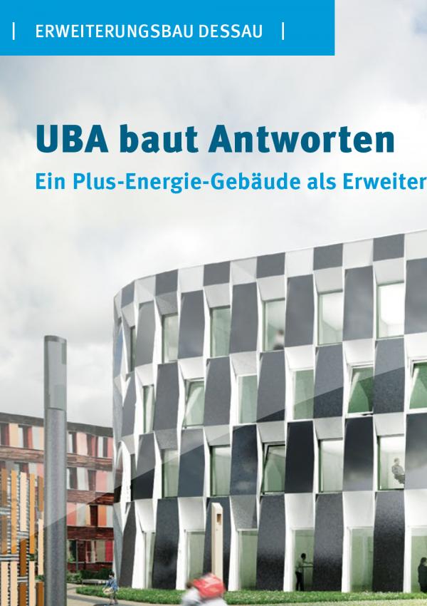 Blick auf das UBA-Gebäude