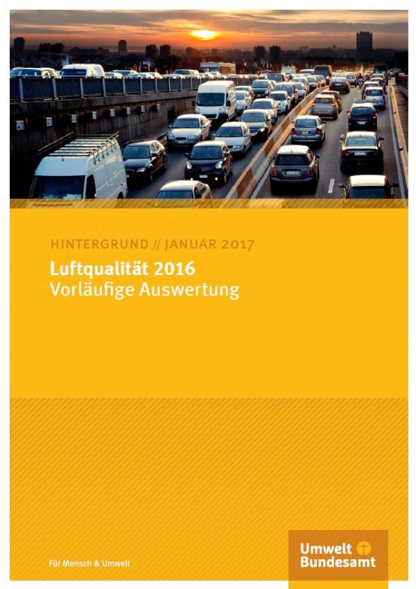 Cover Luftqualität 2016