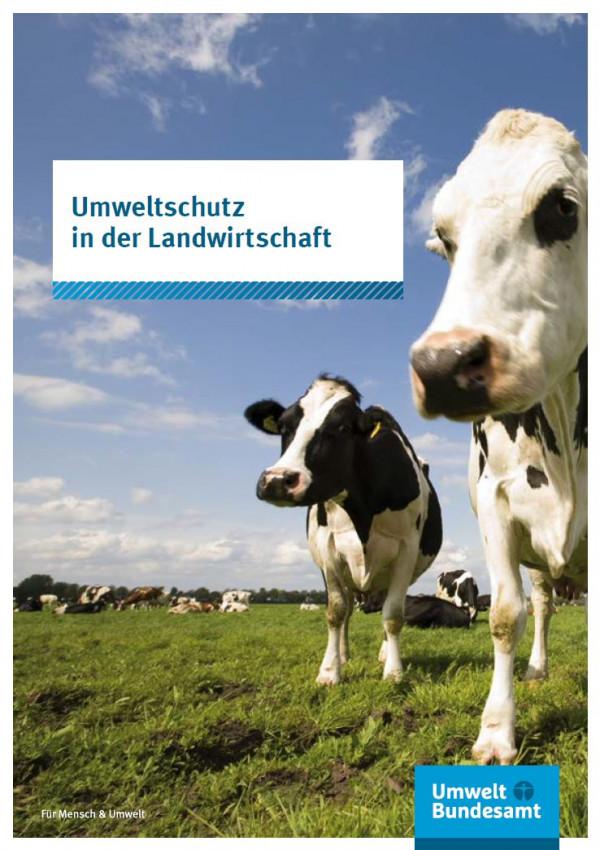 Coverbild Umweltschutz in der Landwirtschaft