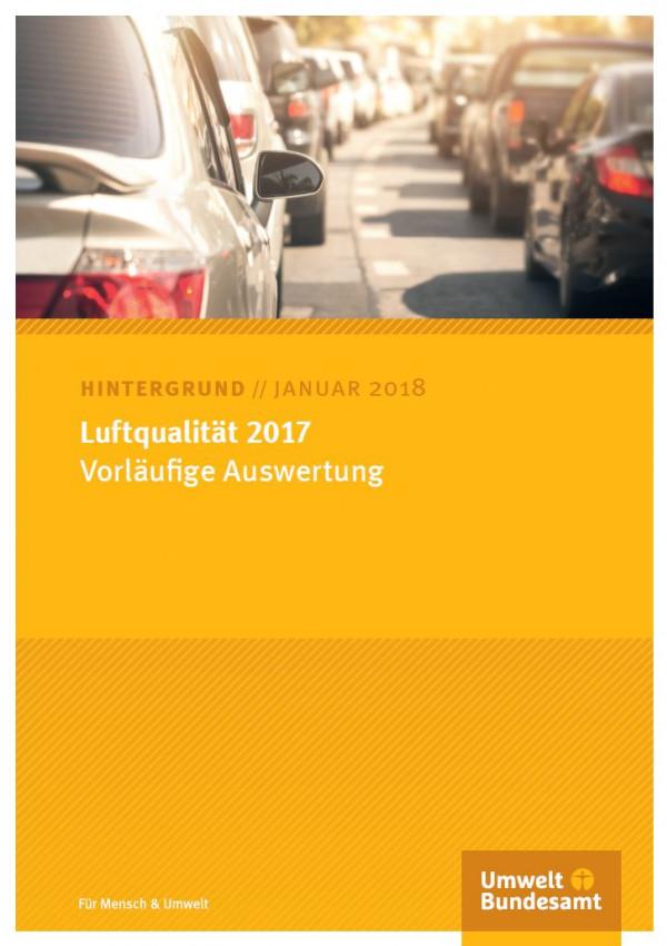 Cover Luftqualität 2017