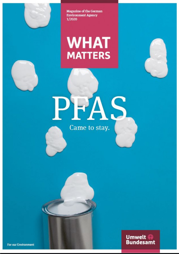 Cover of the What Matters magazine about PFAS