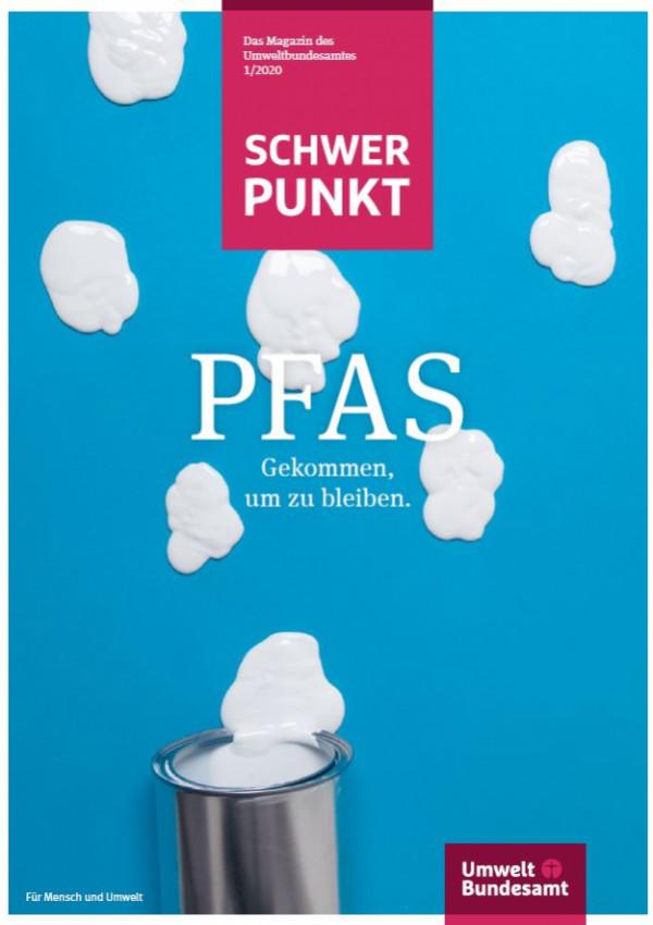 Titelbild des Magazins PFAS