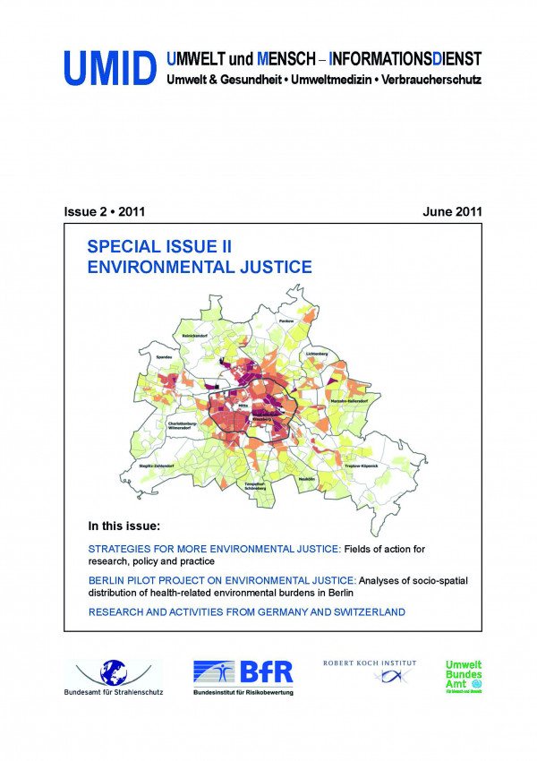 Cover of UMID 2/2011 with a citymap of Berlin