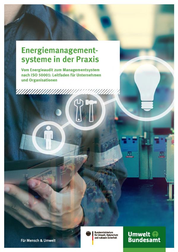 Titelseite der Broschüre Energiemanagementsysteme in der Praxis