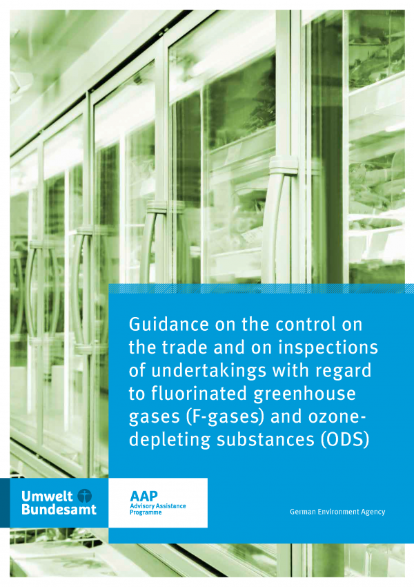 Titelbild Guidance on the control on the trade and on inspections of undertakings