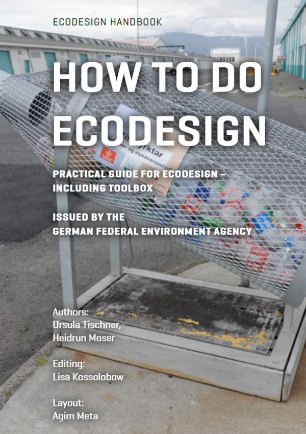 "Cover of the book ""How to do Ecodesign"""