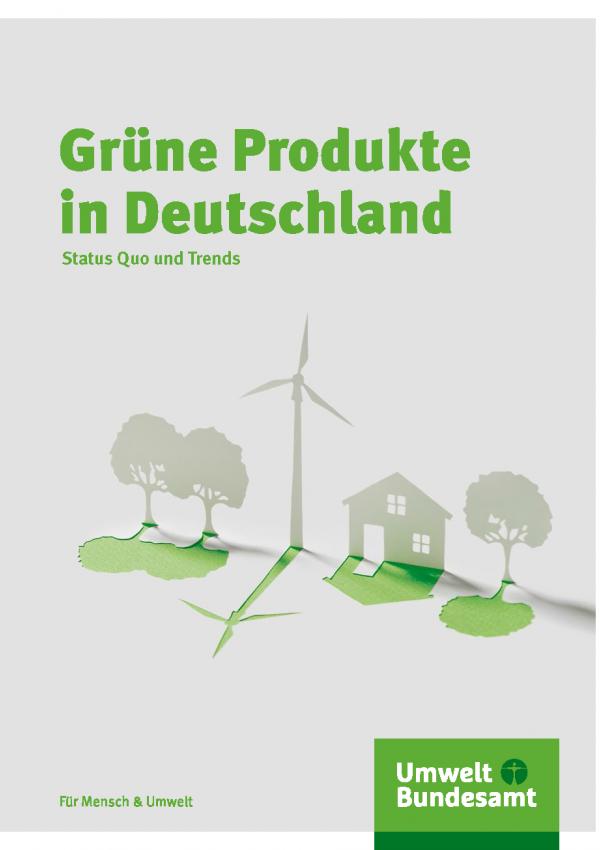Cover Grüne Produkte, Broschüre