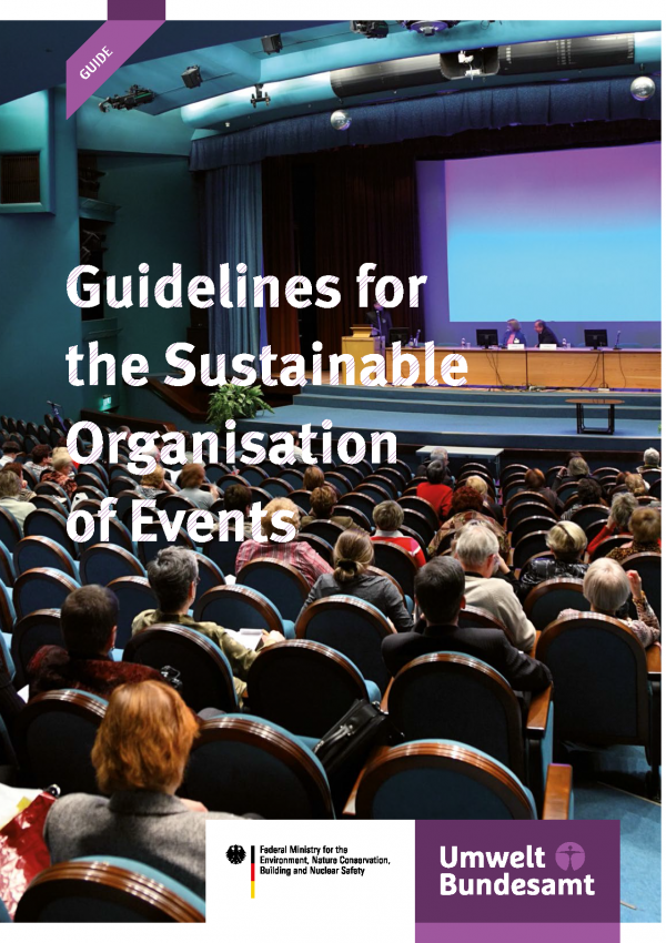 Cover Guidelines for the Sustainable Organisation of Events