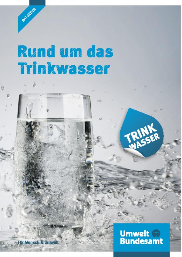 Cover Broschüre Rund um das Trinkwasser