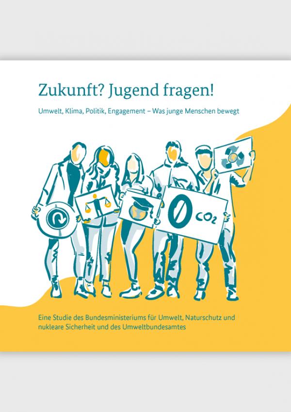 """Cover der Broschüre """"Zukunft? Jugend fragen!"""""""
