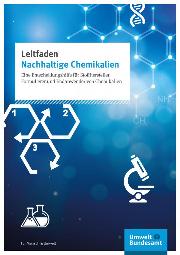 """Cover der Publikation """"Leitfaden nachhaltige Chemie"""""""