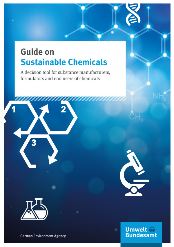 "Cover ""Guide on sustainable chemicals"""