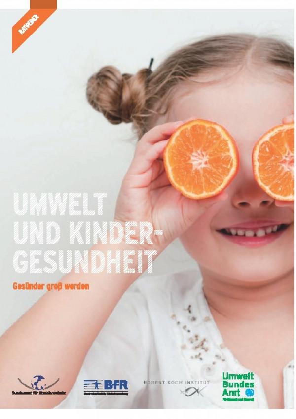 """Cover der Publikation """"Umwelt und Kindergesundheit"""""""