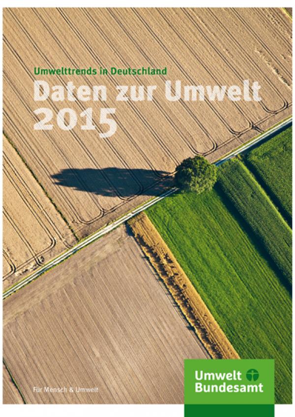 Cover Daten zur Umwelt 2015