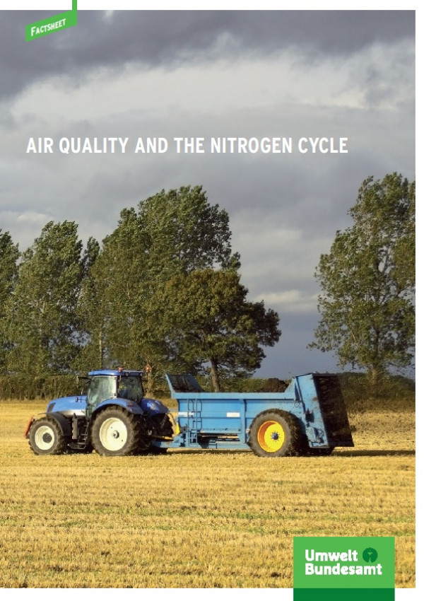Cover Factsheet Air Quality and the Nitrogen Cycle