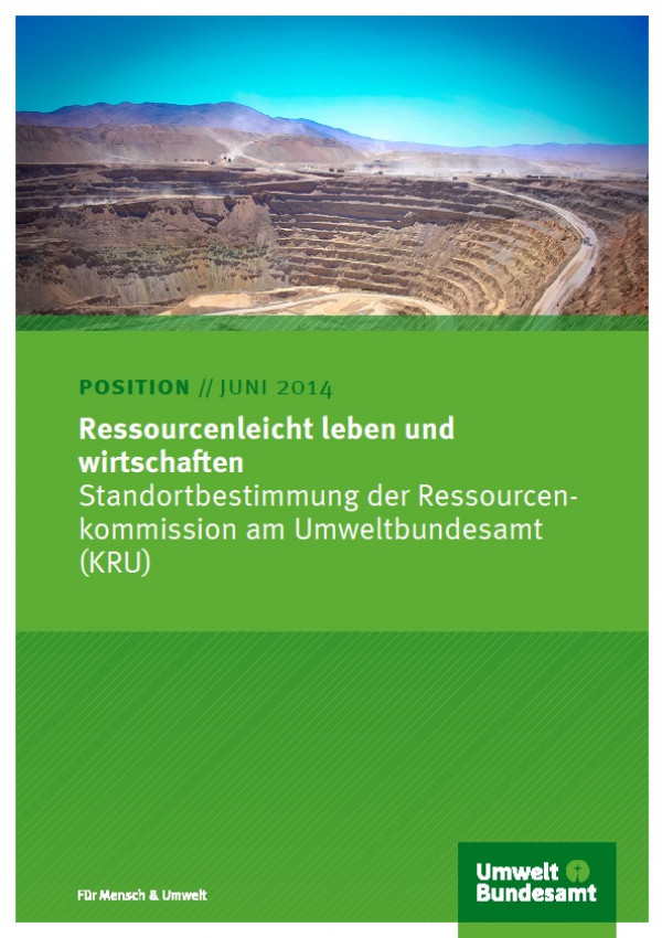 Cover Ressourcenleicht Leben und Wirtschaften