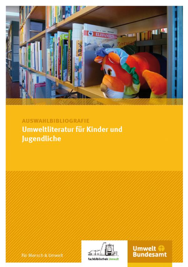 Cover Auswahlbibliografie Umweltliteratur für Kinder und Jugendliche