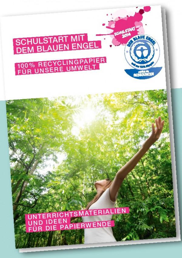 """Cover """"Schulstart mit dem Blauen Engel"""""""
