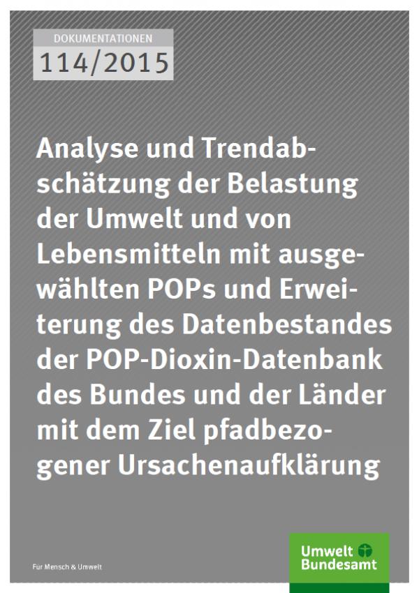 Cover Dokumentationen 114/2015