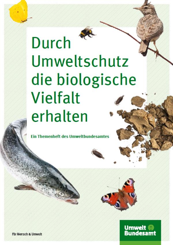 Cover: Durch Umweltschutz die biologische Vielfalt erhalten