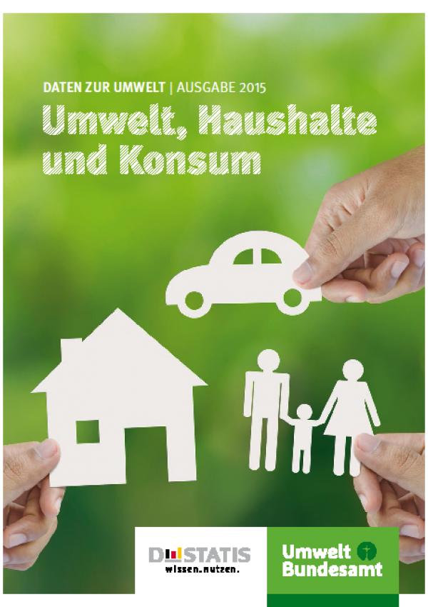 Cover Daten zur Umwelt. Umwelt, Haushalte und Konsum