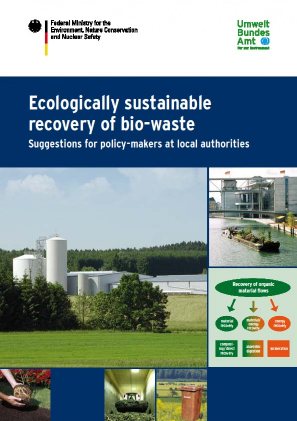 Cover Ecologically sustainable recovery of bio-waste