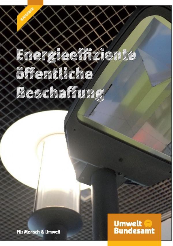 Cover Energieeffiziente öffentliche Beschaffung