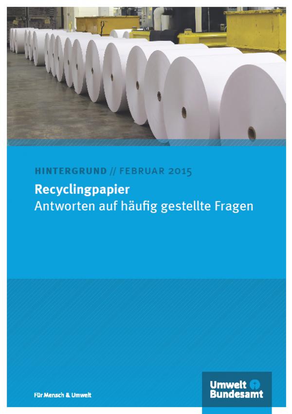 Cover Recyclingpapier