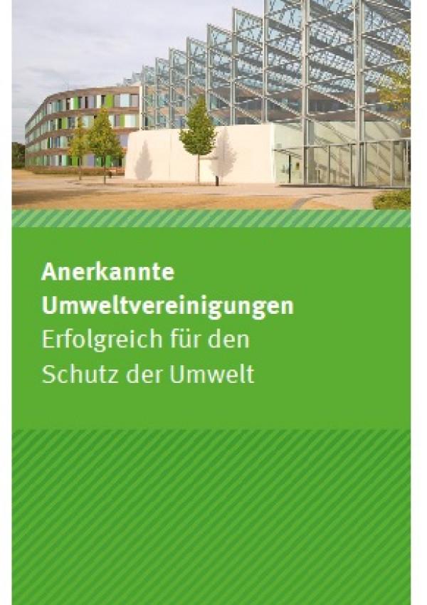 Cover Anerkannte Umweltvereinigungen