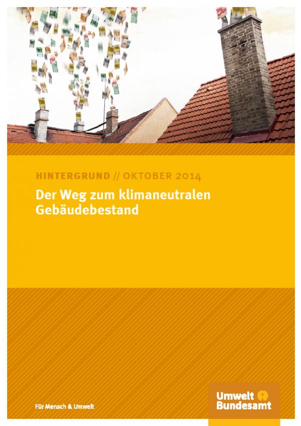 Bild UBA-Papier klimaneutraler Gebäudebestand