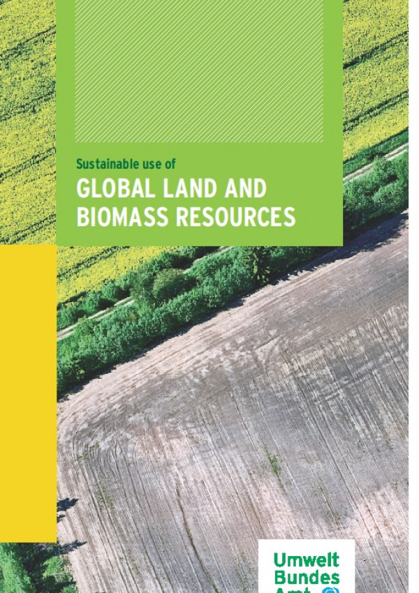 Cover Sustainable use of global land and biomass resources