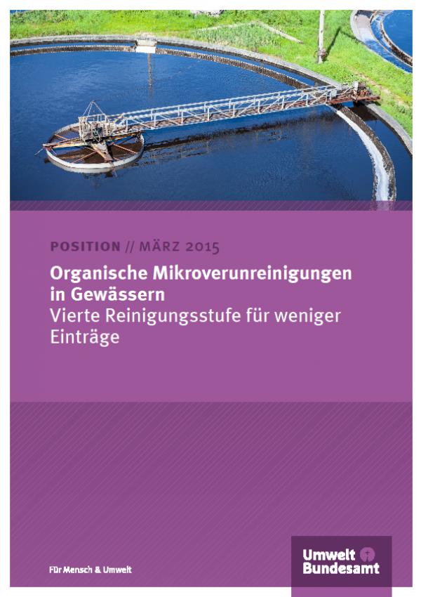 Cover Organische Mikroverunreinigungen in Gewässern