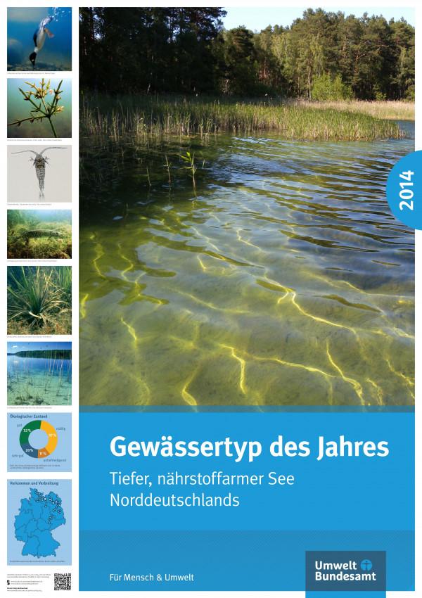 Cover Poster Gewässertyp des Jahres 2014