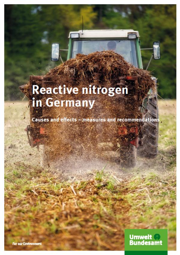 Cover Reactive nitrogen in Germany