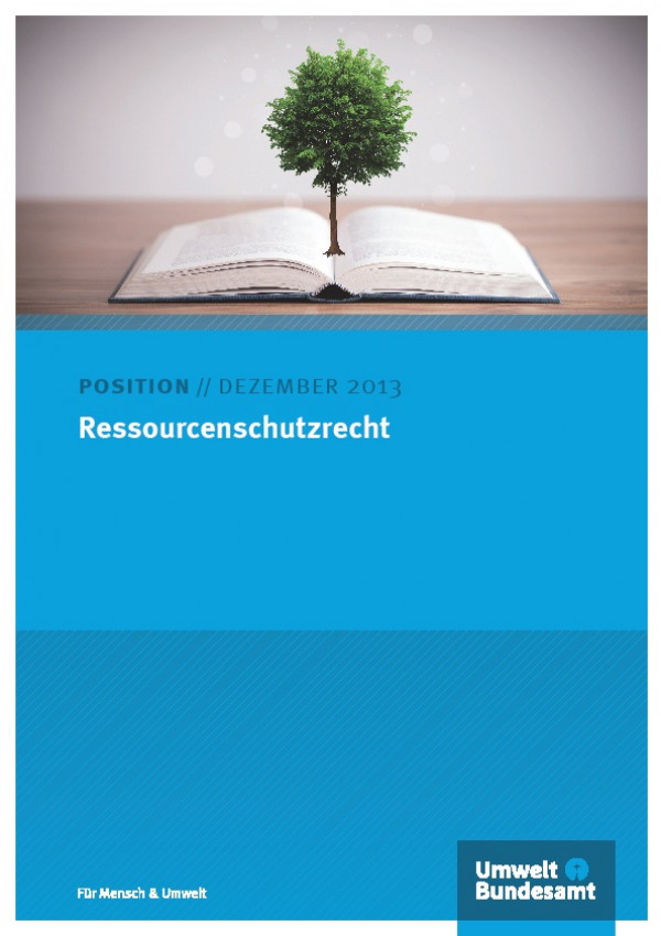 Cover Ressourcenschutzrecht