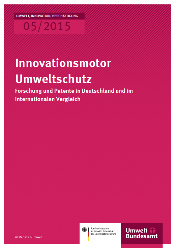 Cover UIB 05/2015 Innovationsmotor Umweltschutz