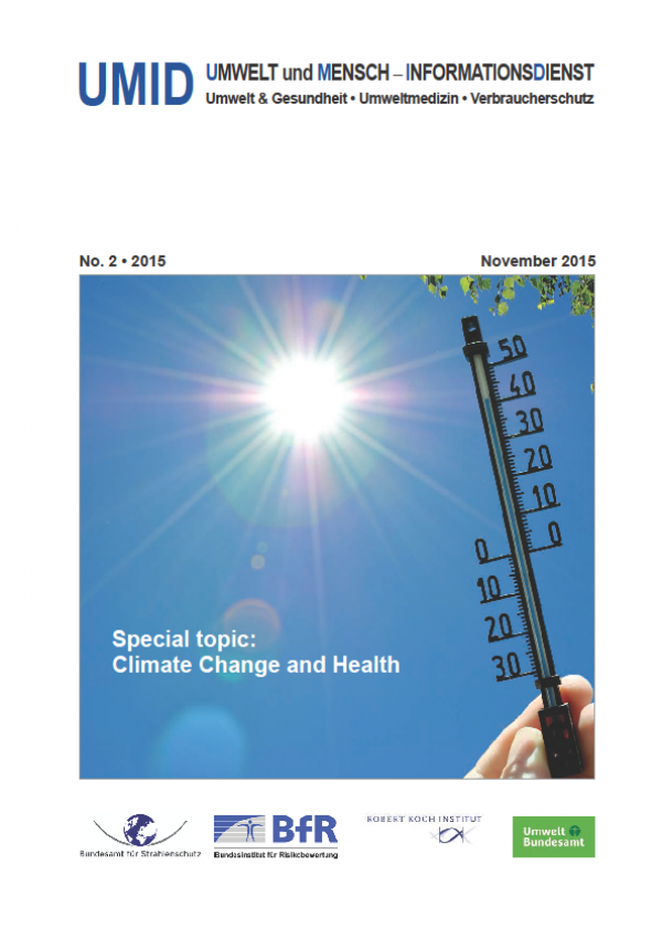 Cover UMID 02/2015 Special topic: Climate Change and Health