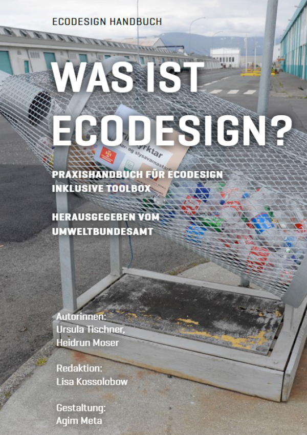 Cover Was ist Ecodesign?