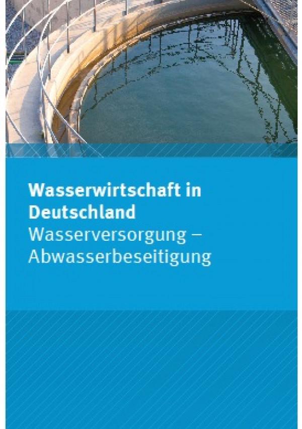 Cover Flyer Wasserwirtschaft in Deutschland