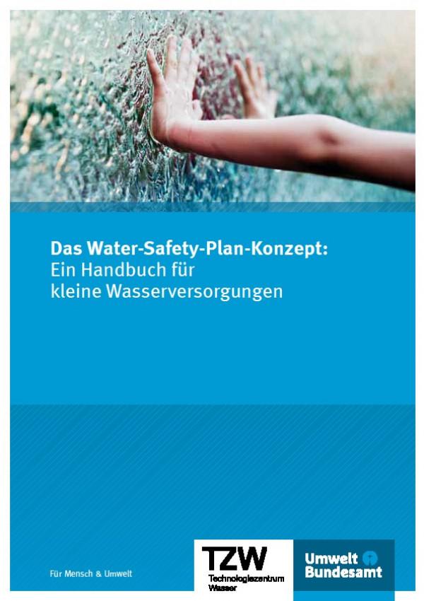 Cover Das Water-Safety-Plan-Konzept: Ein Handbuch für kleine Wasserversorgungen