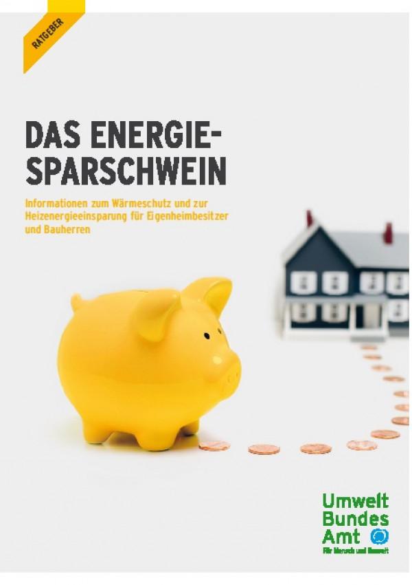 Cover Ratgeber: Das Energie-Sparschwein