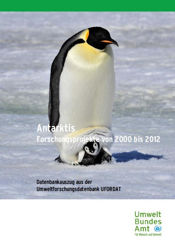 Cover Antarktis - Forschungsprojekte von 2000 bis 2012- UFORDAT