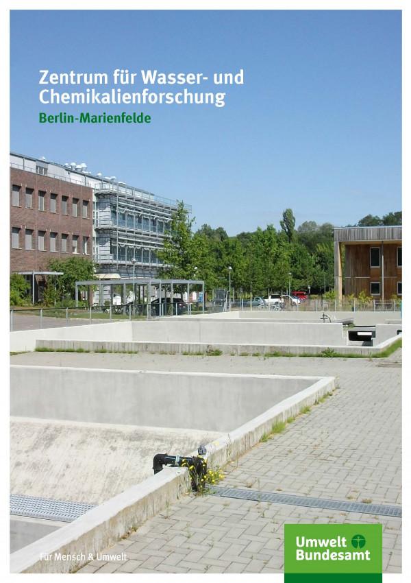 Cover Zentrum für Wasser- und Chemikalienforschung Berlin-Marienfelde