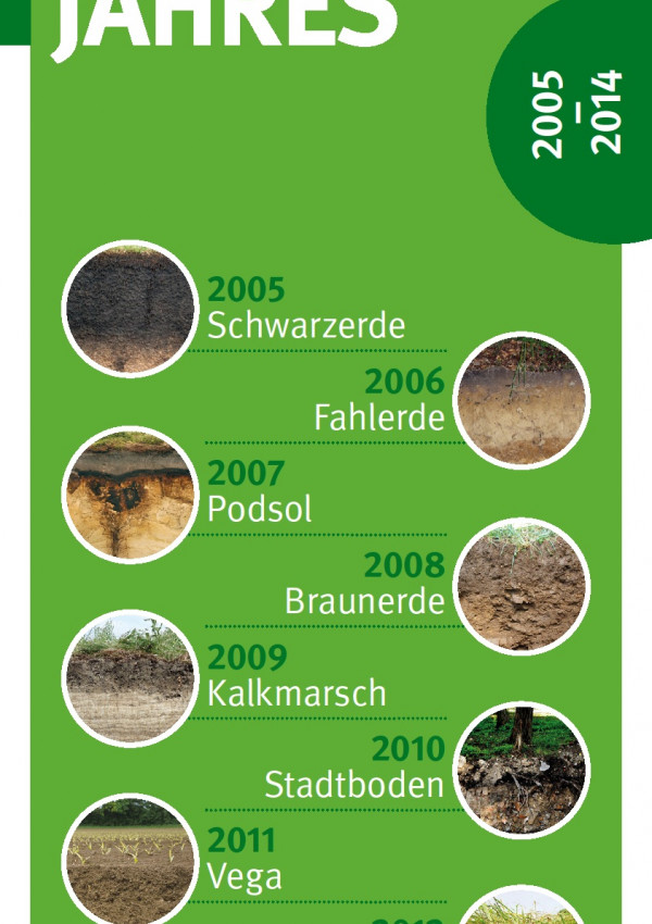 Bilder der 10 Böden des Jahres