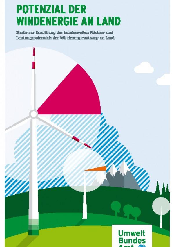 Cover Potenzial der Windenergie an Land