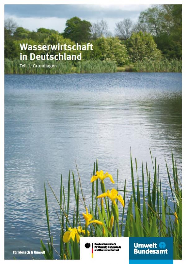 Cover Flyer Wasserwirtschaft in Deutschland Teil 1