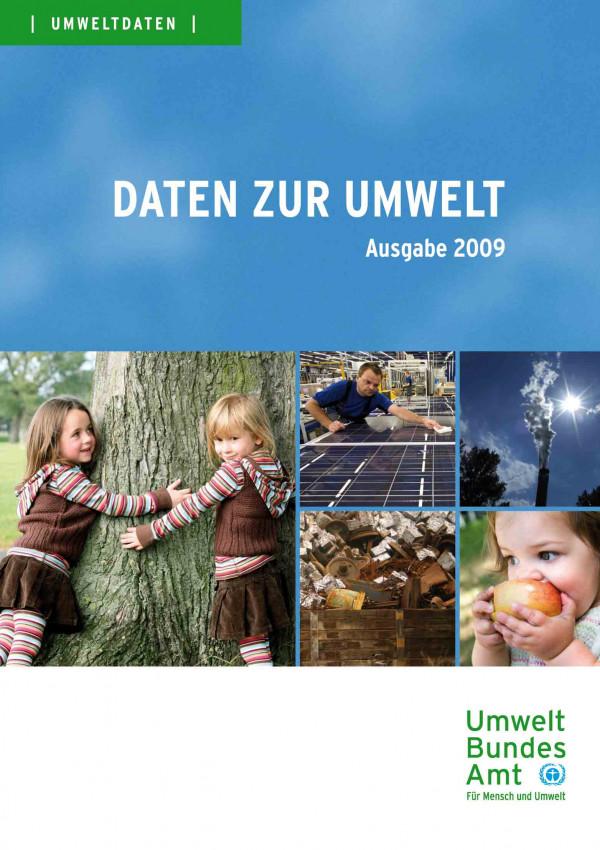 "Coverbild Digipack ""Daten zur Umwelt"", Ausgabe 2009"